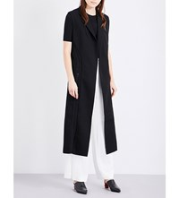 Dion Lee Tailored Coil Wool Canvas Jacket Black