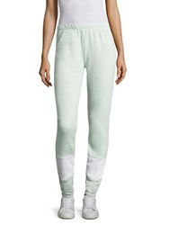 Wildfox Couture Knox Colorblock Sweatpants Ice Mint