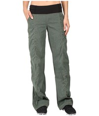 Lucy Get Going Pant Deep Forest Heather Women's Workout Olive