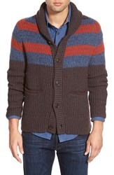 Men's Lucky Brand 'Ostrander' Shawl Collar Cardigan