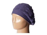 Echo Msoft Diamond Stitch Beret Iris Knit Hats Multi