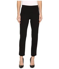 Hue Little Black Cropped Treggings Black Women's Casual Pants