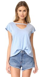 Lna V Maya Tee Vintage Light Blue