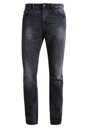 Tom Tailor Denim Aedan Slim Fit Jeans Black Stone Wash Grey Denim