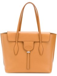 Tod's Joy Shoulder Bag Neutrals