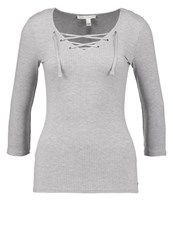 Tom Tailor Denim Long Sleeved Top Mottled Grey