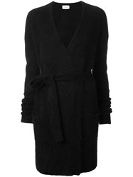 Thierry Mugler Wrap Cardigan Black