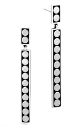 John Hardy Women's Dot Linear Drop Earrings