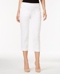 Styleandco. Style Co. Cropped Sailor Pants Only At Macy's Bright White