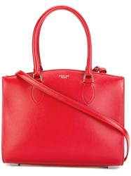 Rochas Plain Tote Bag Red