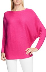 Vince Camuto Women's Rib Knit Dolman Sweater Pop Pink