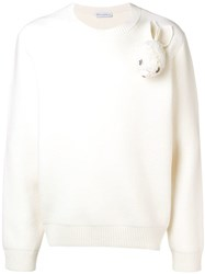 J.W.Anderson Jw Anderson Long Sleeve Sweater White