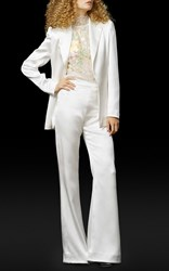 Elizabeth Fillmore The Roxy Wedding Suit White