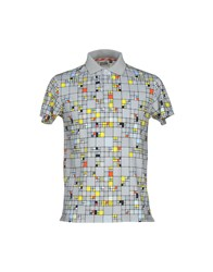 Basso And Brooke Topwear Polo Shirts Men Grey