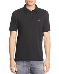 John Varvatos Star Usa Rolling Stones Slim Fit Polo Shirt 100 Exclusive Black