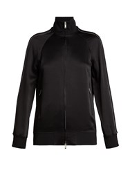 Valentino Satin Track Jacket Black