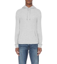 Ralph Lauren Textured Cotton Jersey Hoody Black