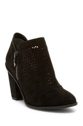 Fergie Dream Laser Cut Bootie Black