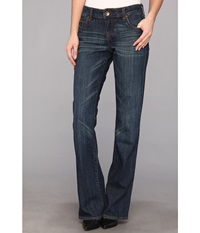 Kut From The Kloth Natalie High Rise Bootcut In Exceptional Exceptional Women's Jeans Blue