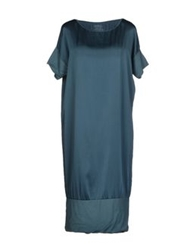 Crossley Knee Length Dresses Deep Jade