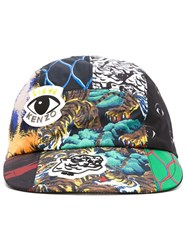 Kenzo 'New Era Multi Logo Cap Multicolour