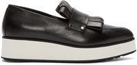 Mcq By Alexander Mcqueen Black Manor Penny Loafers
