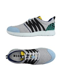 Msgm Footwear Low Tops And Trainers Men Light Grey
