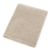 Zoeppritz Since 1828 Knitty Alpaca Wool Throw 140X190cm Sandstone
