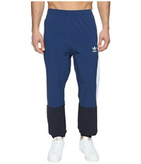 Adidas Oridecon Blocked Wind Jogger Mystery Blue White Men's Casual Pants