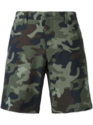 Polo Ralph Lauren Camouflage Print Shorts Green