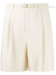 Red Valentino Belted Relaxed Shorts 60