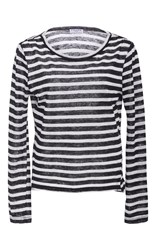 Frame Denim Long Sleeve Striped Tee