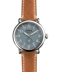 41Mm Runwell Men's Watch Light Blue Shinola