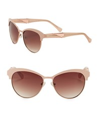 Vince Camuto 57Mm Round Sunglasses Pink