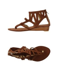 Pour Moi Pour Moi Thong Sandals Brown