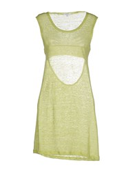 Parah Dresses Short Dresses Women Acid Green
