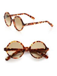 Cutler And Gross 52Mm Octagonal Sunglasses Autumn