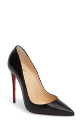 Christian Louboutin Women's So Kate Pointy Toe Pump Black