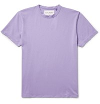 Our Legacy Cotton Jersey T Shirt Purple