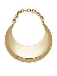 Saks Fifth Avenue 18K Gold Plated Bib Necklace