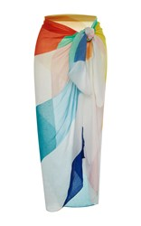 Mara Hoffman Color Block Sarong Multi