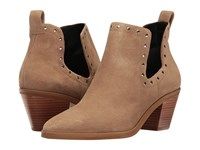 Rebecca Minkoff Lana Taupe Oiled Suede High Heels Brown