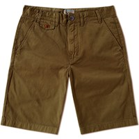 Barbour Neuston Twill Short Green
