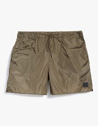 Acne Studios Perry Swimshort In Canvas Beige