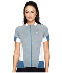 Pearl Izumi Select Escape Short Sleeve Jersey Smoked Parquet Women's Clothing Gray