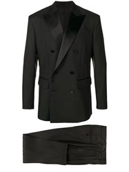 Dsquared2 Double Breasted Suit Black