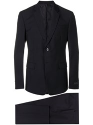 Prada Classic Two Piece Suit Black
