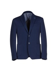 Massimo Rebecchi Suits And Jackets Blazers Men Dark Blue