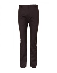 Balenciaga Fitted Trousers Marron