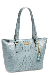 Brahmin 'Medium Asher' Tote Blue Jasper